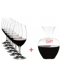 Value Gift Pack: Ouverture + Gift (Ouverure Magnum + Riedel Apple Decanter)